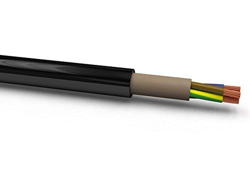 XBK 10070101 NYY-J 3x1,5 mm² RE, Schwarz, 50M. Ring