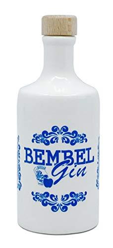 Bembel Gin Miniatur - das kleine Bembelchen - Apfel Gin in Original Miniatur Tonflasche aus Hessen (0,05l/43% vol.)