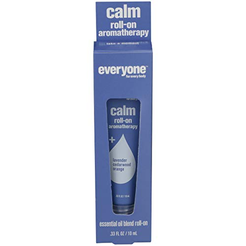 EO, Aromatherapy Roll-On Tube - Calm, 0.33 Ounce