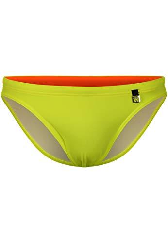 HOM - Herren - Swim Micro Briefs 'Sunlight' - Hochwertige Badehose - Yellow - L
