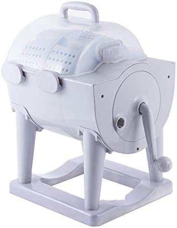 Manual Portable Turbo Washing Machine Spin Dryer Hand Cranked Turbine Washer Non electric Travel product image