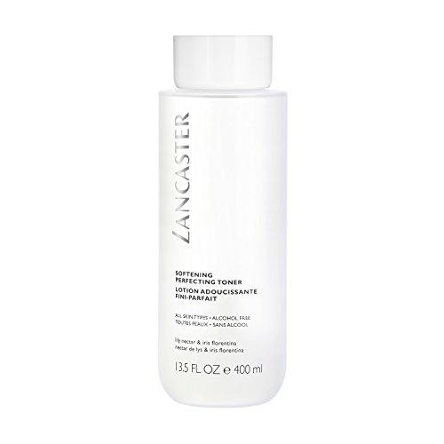 LANCASTER Softening Perfecting Toner, Gesichtswasser, alkoholfrei, reinigt schonend trockene und sensible Haut, 400 ml