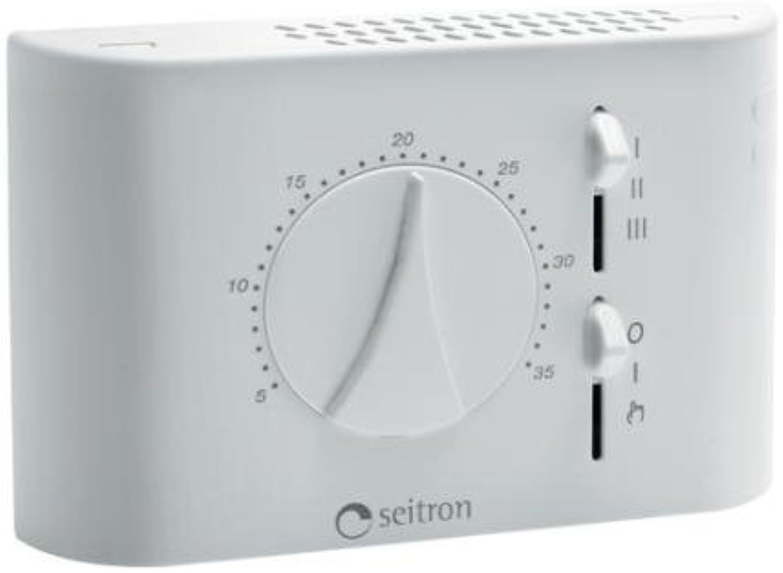 Seitron Thermostat Elektronisch für VENTILCONVETTORI 230V tfd04m