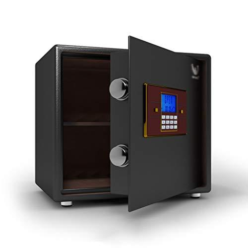 ZXQZ Caja Fuerte, con Alarma Dual e Iluminación LED Incorporada, Caja de Seguridad, Caja de Efectivo, para Cámara de Joyería Gabinete Seguro (Color : 35cm)