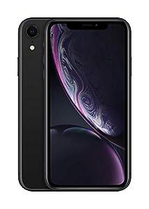 Apple iPhone XR (128GB) - Negro (incluye Earpods, adaptador de corriente)