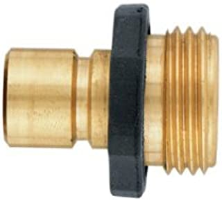 Orbit Brass Male Garden Hose Quick Connect Fitting for fast disconnect - 58119N