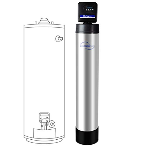 iSpring WF150K Whole House Central Water Filtration System with Set and Forget Smart Valve, Up to 10 Years