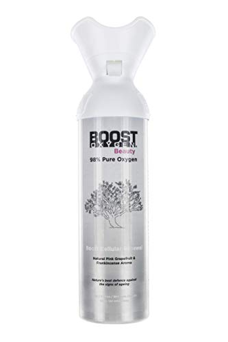 Boost Oxygen Beauty 6L, 98% Pure Oxygen, Over 100 uses, Fresh and Trendy, Rejuvenates & Repairs - (1) Pack