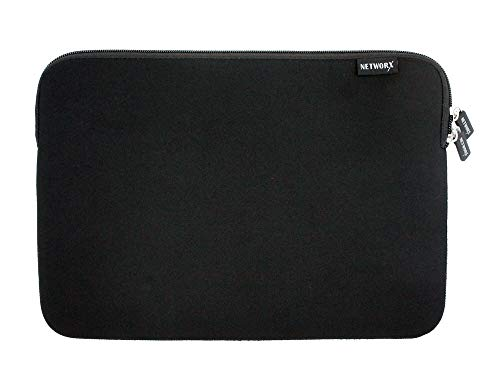"""Networx Neopren Sleeve, Schutzhülle für MacBook Pro/Air Ret. 13\"""", schwarz"""