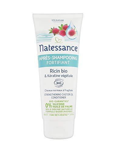 Natessance Après-Shampooing Fortifiant Ricin Bio et...