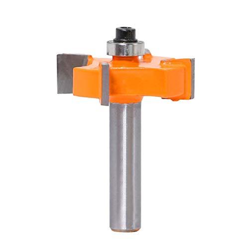 JohnJohnsen 8 mm Tipo vástago Rodamientos Fresa Fresa