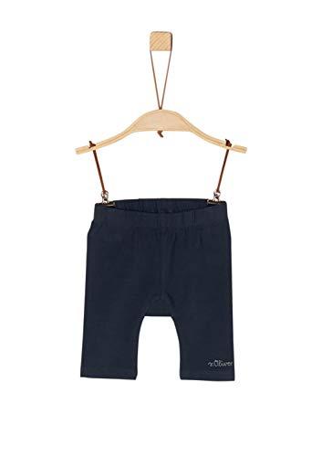 s.Oliver Baby-Mädchen 59.906.75.5015 Shorts, Blau (Dark Blue 5834), (Herstellergröße: 74/REG)