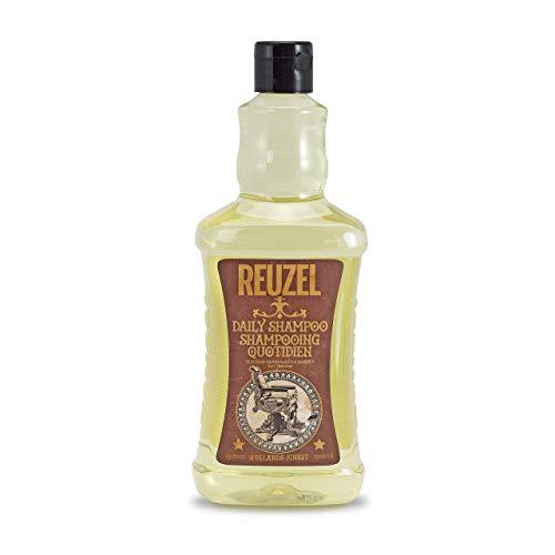 Reuzel - Daily Shampoo - Reinigt das Haar und die Kopfhaut, ohne sie auszutrocknen - verleiht Glanz - feuchtigkeitsspendend - stärkend - entfettend - für alle Haartypen - tägliche Anwendung - 33.81 oz/1000 ml