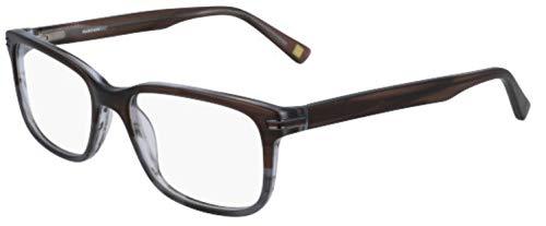 Marchon M-3004, Acetate - Gafas de Sol Matte Brown Horn, Unisex, Adulto, Multicolor, estándar