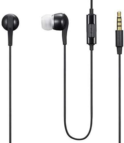 Wired Earphones Headphones Handsfree Mic 3.5mm for Moto G Power (2020), Headset Earbuds Earpieces Microphone Compatible with Motorola Moto G Power (2020)