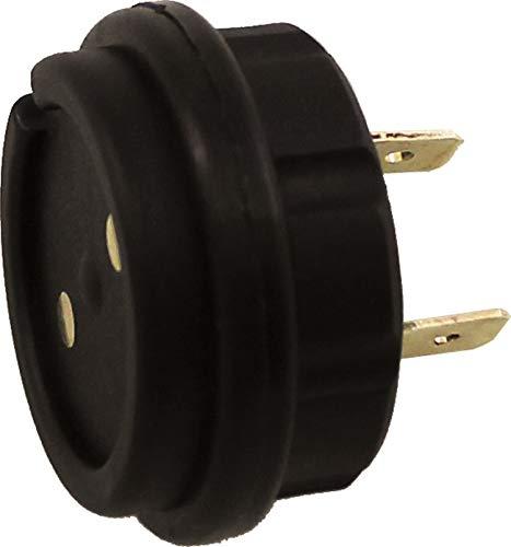 BC Battery Controller 710-MAG-F Magnetische Buchse/Steckdose an Bord des Fahrzeugs zum Aufladen der Batterie - Kompatibel mit Allen BC-Ladegeräten (12V max 15 Amp)