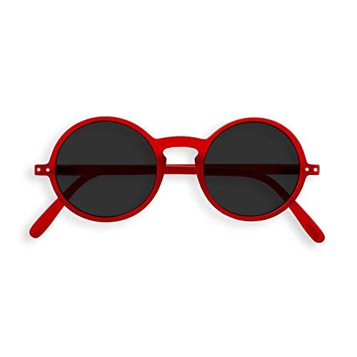 Preisvergleich Produktbild IZIPIZI PARIS / SUN LetmeSee G Red Crystal Soft Grey Lenses +0, 00 / Sonnenbrille / Sonnenschutz