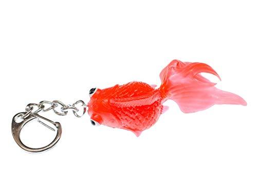 Miniblings Koi Peces de Colores Rojo llaveros Peces - Hecho...