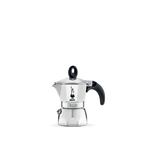 Bialetti Moka Dama Espressokocher, Aluminium, metallic, 1 Tasse