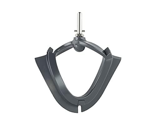 Kenwood Accesorio Batidor Flexible para Mezclas de Pasteles y Coberturas, Accesorio Compatible con el Robot de Cocina Kenwood Chef, Apto para el Lavavajillas, AT501, Negro