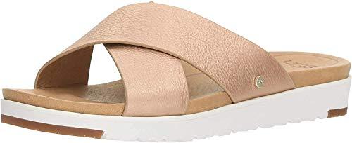 UGG Damen Kari Metallic Sandale, Rose´Metallic, White, 38 EU