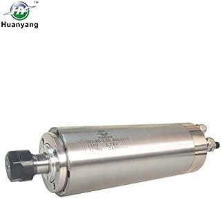 Huanyang Water Cooled CNC Spindle Milling Motor 110V 2.2KW 24000RPM 400hz ER20 Collet for Engraving Machine