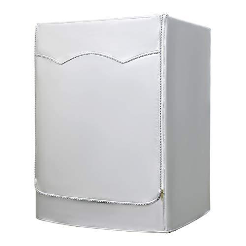 Coperchio della lavatrice Coperchio protettivo impermeabile per asciugatrice della lavatrice a caricamento frontale Antipolvere a prova di polvere 60 × 60 × 86 cm Felpato all'interno …