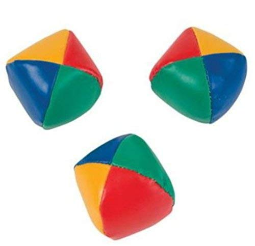 Unbranded Set of 3 Learn to Juggle Balls Juggling Ball with Instructions 2.25