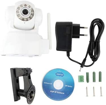 kmwagsn HD 1920 x 1080P IP Camera Tuner WiFi Security Camera, Support TF Card, USB, 150 Degree Wide Angle
