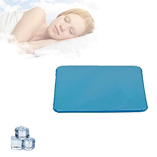HUONIUPIC Almohadas de Gel refrescante Sudores nocturnos, Almohadas refrescantes de Verano, Almohadas de Gel refrescante para aliviar la Fatiga (Color : 1pcs)