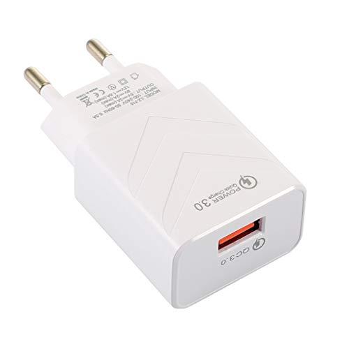 KLOVA Chargeur USB Universel Quick Charge 3.0 QC3.0 Chargeur de téléphone Mural USB à Charge Rapide Adaptateur Secteur de Voyage