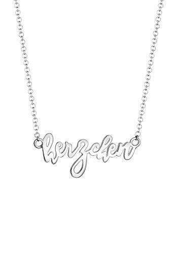 Elli Halskette Damen Herzchen Wording Oktoberfest in 925 Sterling Silber
