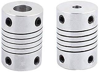 Flexible Shaft Coupling Rigid CNC Motor Metal Aluminum 1pc Plum Spring