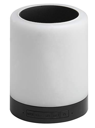 Denver Electronics BTL-30BNR 3W luidspreker (draagbaar, 3 W, draadloos, draadloos, 10 m) zwart, wit, digitaal