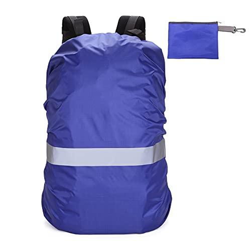 jeerbly Mochila impermeable para llevar en seco, ligera, para navegar, senderismo, piragüismo, pesca, rafting, natación, camping, snowboard, con dos correas elásticas ajustables, azul marino (Azul)
