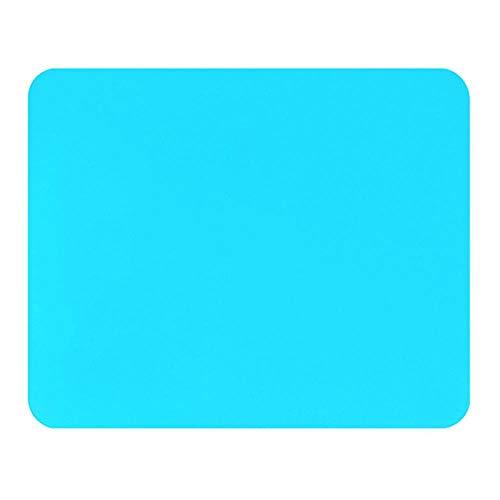 Heng effen kleur Ultra dunne student stof Gaming muismat Kleurrijke mat Smaakloze antislip, NO.4