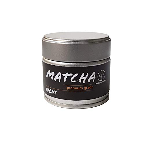 Bio Matcha Aichi - Premium Grade aus der Präfektur Aichi / Japan - eudaimonia TEA - 30 g Dose