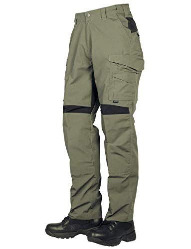 Tru-Spec Men's 24-7 Series Pro Flex Pant, Ranger Green/Black, 34W 32L