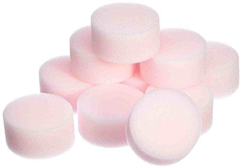 10 x Face lavables éponges, Visage Face éponge maquillage cosmétiques Powder Puff by DELIAWINTERFEL