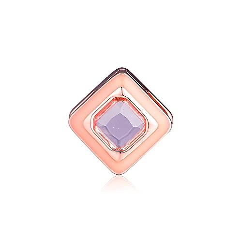 Pandora 925 colgante de plata esterlina Diy CKK brillante rosa Clip abalorios para hacer joyas se adapta a la pulsera de reflexión Kralen