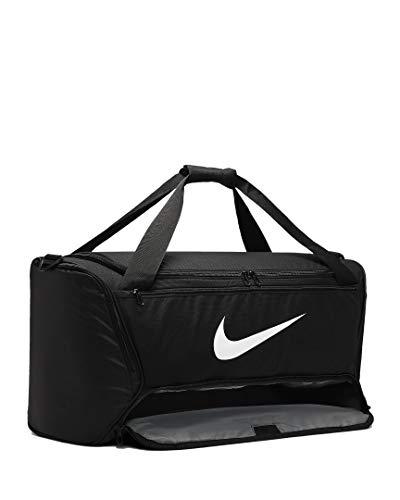 Nike Brasilia M training sporttas (één maat, zwart)