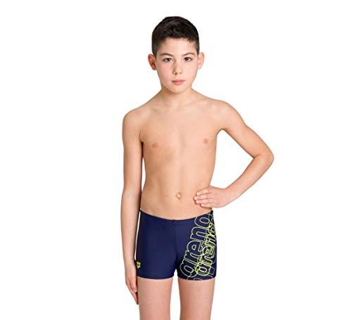 arena Spotlight Junior Badehose für Jungen, Chlor- und Salzbeständige Badehose für Meer und Schwimmbad aus MaxFit Material, UV-Schutz Faktor 50+