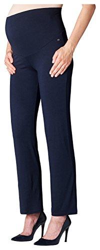 ESPRIT Maternity Damen Pants Jersey OTB M84120 Umstandshose, Blau (Blue (Night Blue 486) 486), 42 (Herstellergröße: XL)