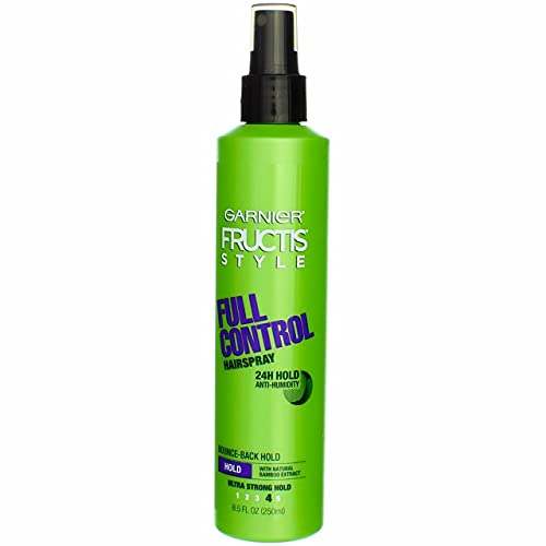 Garnier Fructis Style Full Control Anti-Humidity Non Aerosol Hairspray 8.5 oz (Pack of 6)