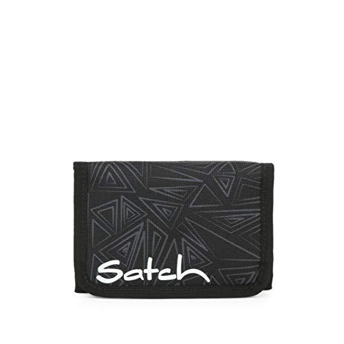 Satch Geldbeutel - Münzfach, Geldscheinfach, Sichtfenster - Ninja Bermuda - Black