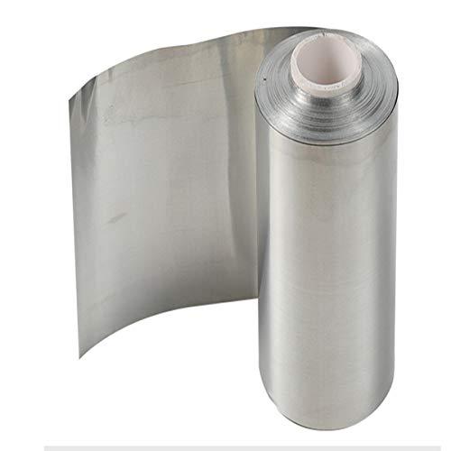 LOKIH Pure Zinc Zn Hoja de Plancha Resistente la Hoja de Metal for la Ciencia,0.2mmx150mmx1000mm