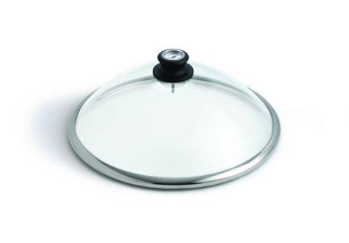 LotusGrill Glashaube aus Sicherheitsglas - Speziell entwickelt für den raucharmen Holzkohlegrill/Tischgrill