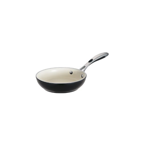 Tramontina 80110/018DS Ceramica 01 Deluxe Fry Pan, 8-Inch, Metallic Black by Tramontina