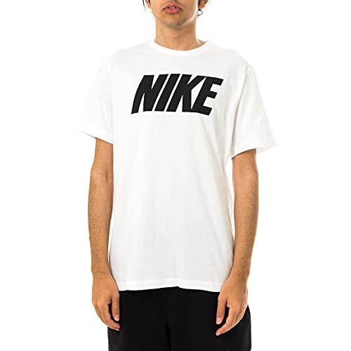 Nike Herren Nike Sportswear T Shirt, Weiss Schwarz, XL EU