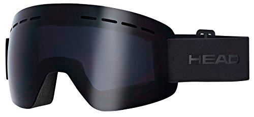 Head Solar Skibrille, Schwarz, M
